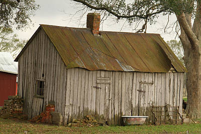 Photograph - Antique Barn by Ronald Olivier