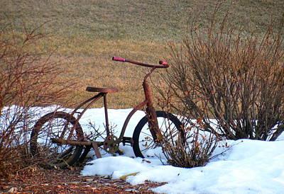 Antique Bike Art Print
