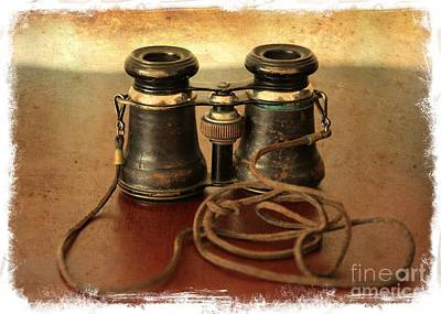 Photograph - Antique Binoculars by Carol Groenen