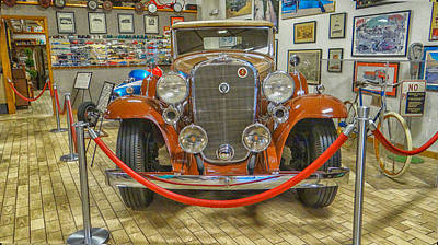 Antique Cadillac Original by Dennis Dugan