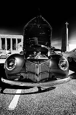 Photograph - Antique Car Closeup At Car Show by Danny Hooks