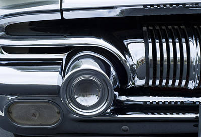 Antique Car Grill Art Print