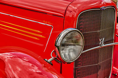 Photograph - Antique Car Show In Canterbury Nh by Jeff Folger