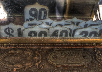 Photograph - Antique Cash Register by Bill Owen