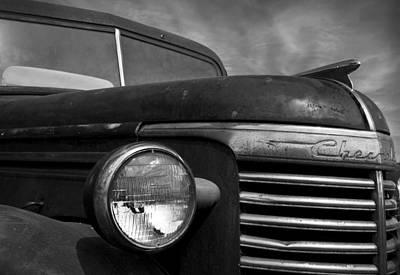 Antique Chevy Truck - Vintage Pickup Original