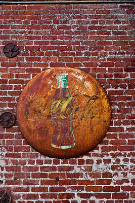 Antique Coke Sign 2 Art Print