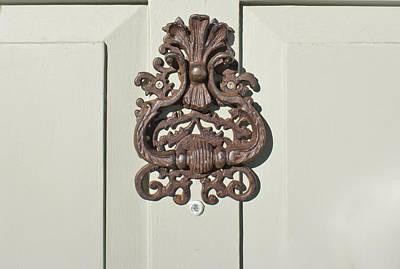 Antique Door Knocker Art Print by Tom Gowanlock