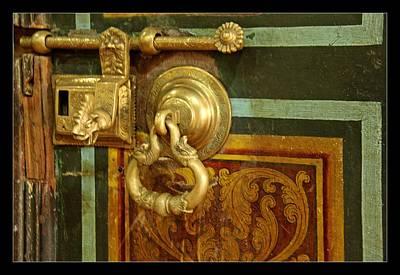 Antique Door Lock Art Print