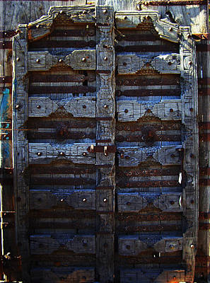 Photograph - Antique Door by Xueling Zou