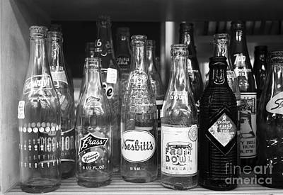 7 Up Photograph - Antique Drinks Bottles by James Brunker