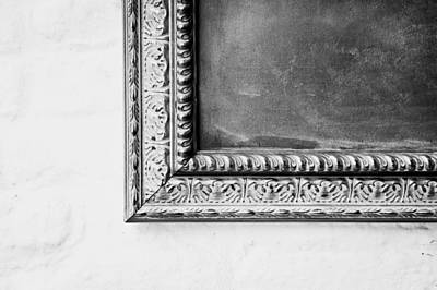 Chalk Board Photograph - Antique Frame by Tom Gowanlock