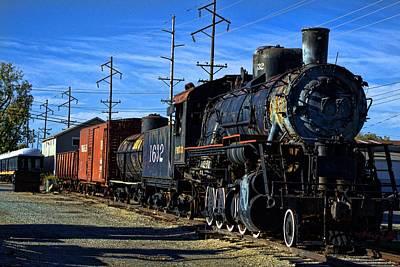 Photograph - Antique Fresco Train by Tim McCullough