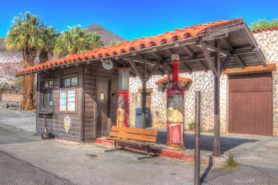 Photograph - Antique Gas Station by Heidi Smith