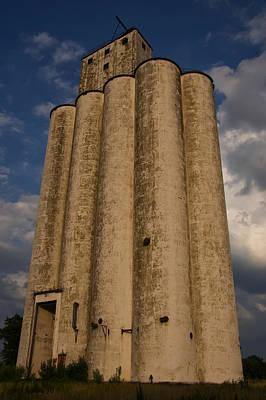 Digital Art - Antique Grain Tower by Chris Flees