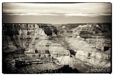 Antique Grand Canyon Art Print by John Rizzuto
