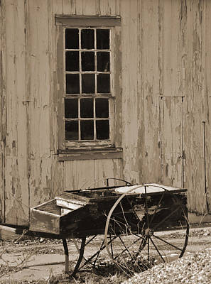 Digital Art - Antique Hay Cart by Kirt Tisdale