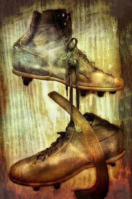 Photograph - Antique Ice Skates Photography by Ann Powell