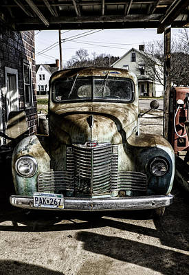 Photograph - Antique International Pickup Truck by Dick Wood