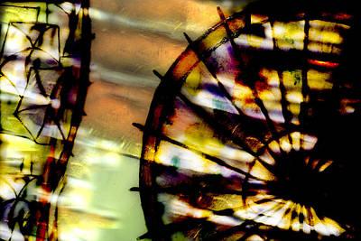 Color Wheel Art Print by Don Gradner