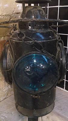 Zeni Shariff Photograph - Antique  Jewelled Lamp by Zeni Shariff