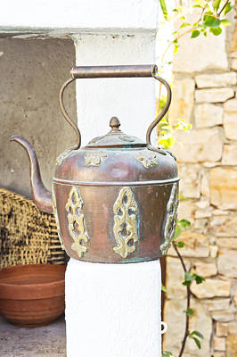 Antique Kettle Art Print
