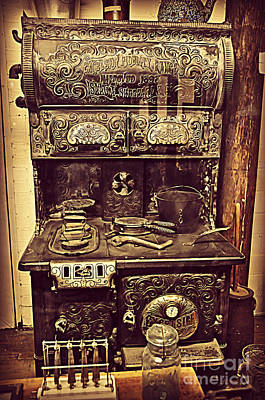 Photograph - Antique Kitchen by Mindy Bench