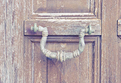 Photograph - Antique Knocker by Tom Gowanlock