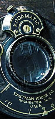 Photograph - Antique Kodamatic Lens by Garry McMichael