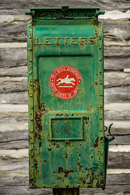 Mail Box Photograph - Antique Mailbox by Paul Freidlund