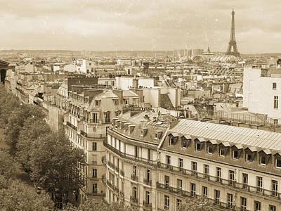 Photograph - Antique Paris  by Heidi Hermes