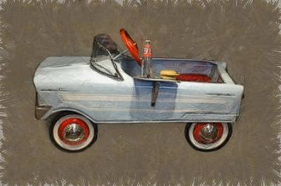 Antique Pedal Car Lv Art Print by Michelle Calkins