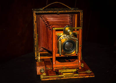 Photograph - Antique Pony Premo No 6 Camera by Shey Stitt