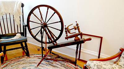 Loom Digital Art - Antique Room by Dennis Dugan