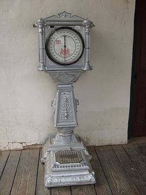 Photograph - Antique Scale by Philomena Zito