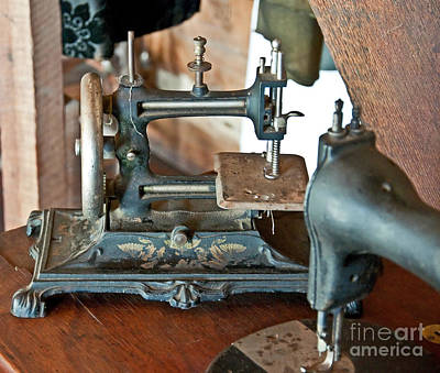 Photograph - Antique Sewing Machines by Valerie Garner