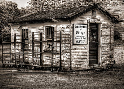 Photograph - Antique Shop by Rick Mosher