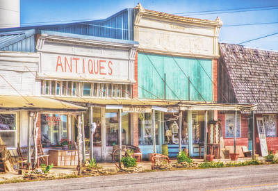 Photograph - Antique Shopping by David and Carol Kelly