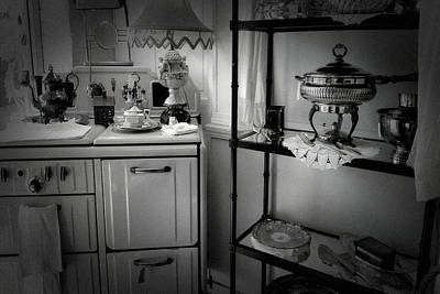 Photograph - Antique Store Kitchen by Bonnie Bruno