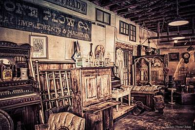 Photograph - Antique Store by Michaela Preston