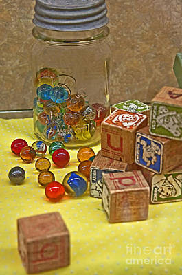 Photograph - Antique Toys by Valerie Garner