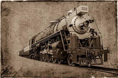 Antique Train Art Print by Doug Long