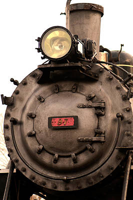 Photograph - Antique Train by Paul Mangold