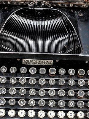 Unique Photograph - Antique Typewriter 2 by Hakon Soreide