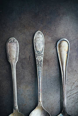 Photograph - Antique Utensils by Mmeemil