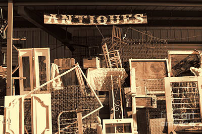 Photograph - Antiques by Audreen Gieger