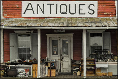 Photograph - Antiques by Erika Fawcett