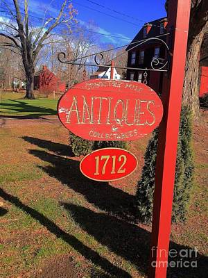 Photograph - Antiques In Ct by Saundra Myles