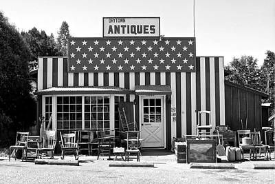 Photograph - Antiques In Drytown 2 by SC Heffner