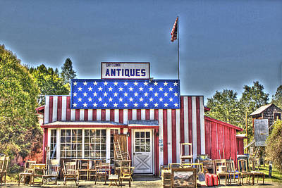 Photograph - Antiques In Drytown 3 by SC Heffner