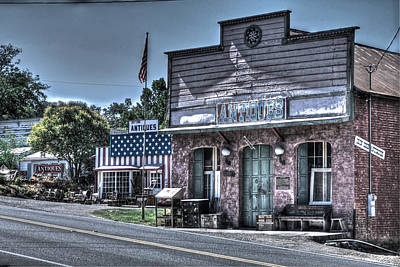 Photograph - Antiques In Drytown by SC Heffner